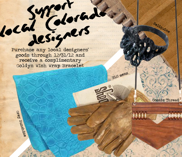 Help Goldyn Support Local Colorado Designers