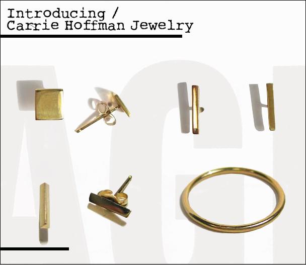 Introducing Carrie Hoffman Jewelry