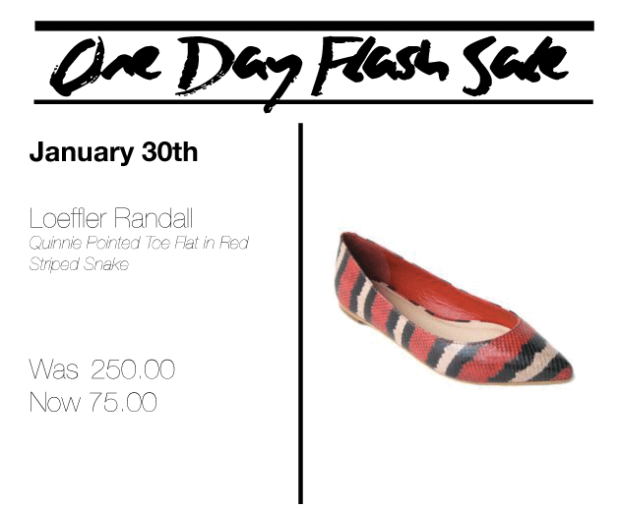 One Day Flash Sale