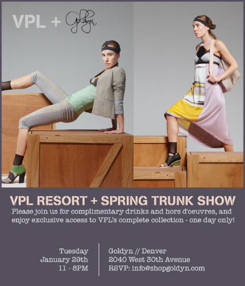 VPL Resort + Spring Trunk Show at Goldyn