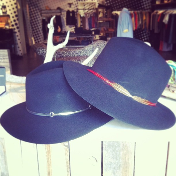 Janessa Leone Handmade Hats now Available at Goldyn!