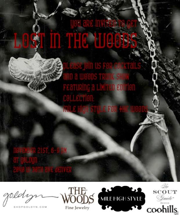 The Woods invite