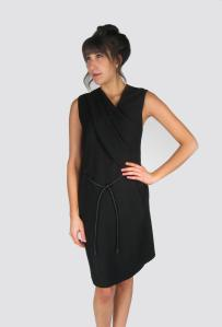 Dress: Viscose/elastane, Helmut Lang, $530