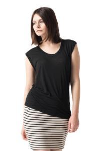 T-shirt: Poly/cotton, Helmut Lang, $115