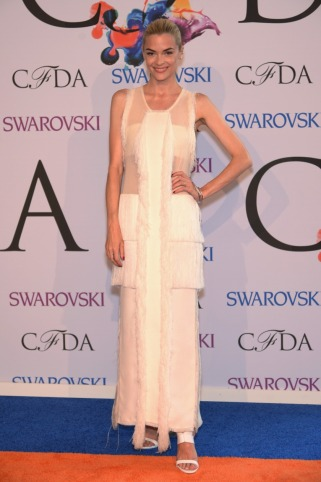 Jaime King in Calvin Klein Collection / Getty Images