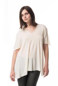 Zoe Twitt drape tee, wool/silk, $198