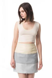 Zoe Twitt cropped tank, silk/wool, $89