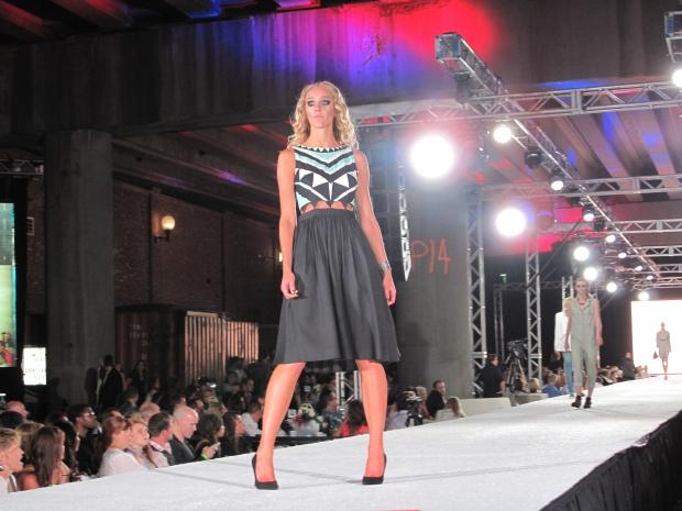 Cutout waist dress from Mara Hoffman