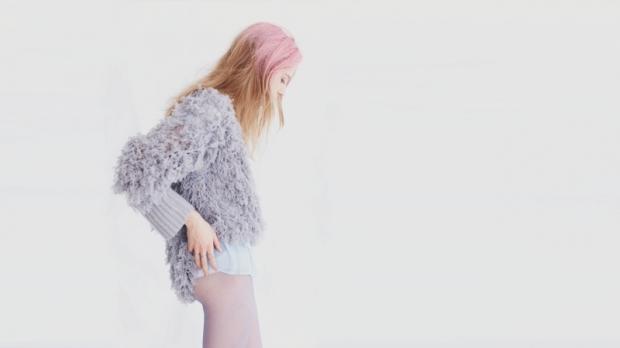 Ryan Roche furry sweater