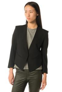 Blazer: Helmut Lang, Wool/Lycra, $575