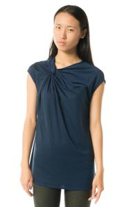 Top: Helmut Lang, Tencel/silk, $210