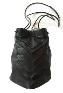 """Tryst"" bag, leather, $341"