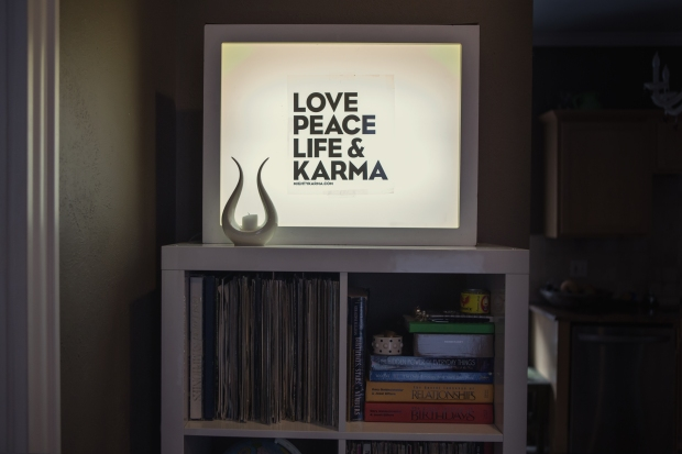 Love, peace, life and karma