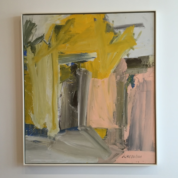 de Kooning's colors