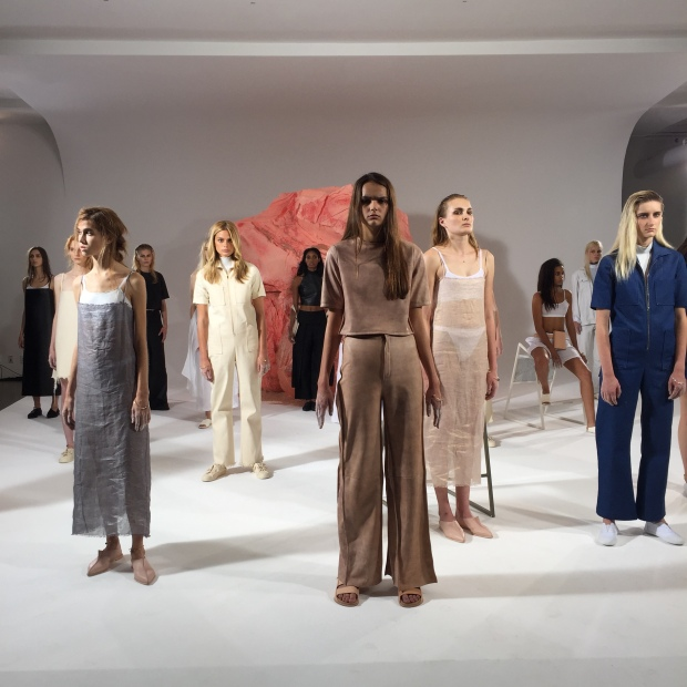 Collina Strada's Spring 2016 presentation at Milk