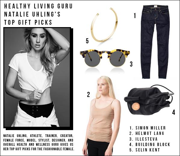Natalie Uhling's top gift picks for the fashionable female